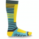 dk zh womens highback sock yellow