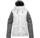 the white collection snuggle muffin snowboard jacket